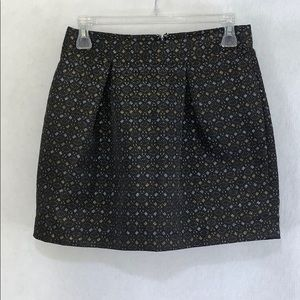 Old Navy a-line mini lined skirt